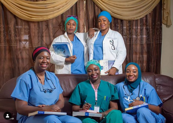 5 Nigerian Sisters Who Are All Doctors (photos)