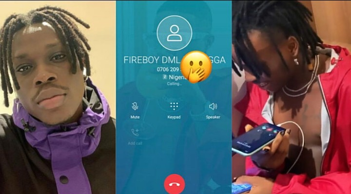 Fans Go Crazy As Fireboy Drops His Phone Number (Video)