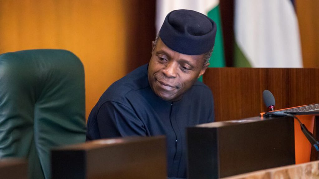 Covid-19: Presidency Finally Opens up On Osinbajo's Whereabouts