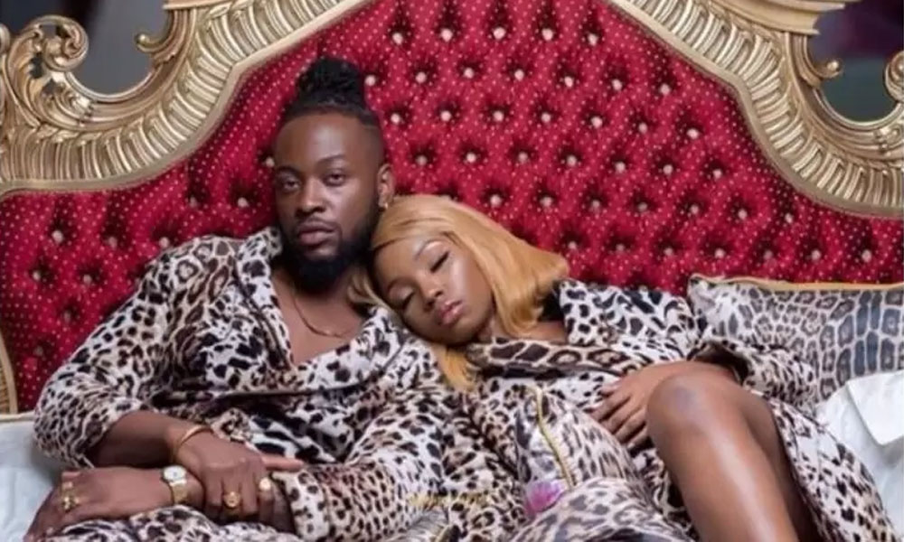BBNaija Housemate Bambam Cries For Help As She Reveals What Her Husband Is Doing To Her In Lockdown