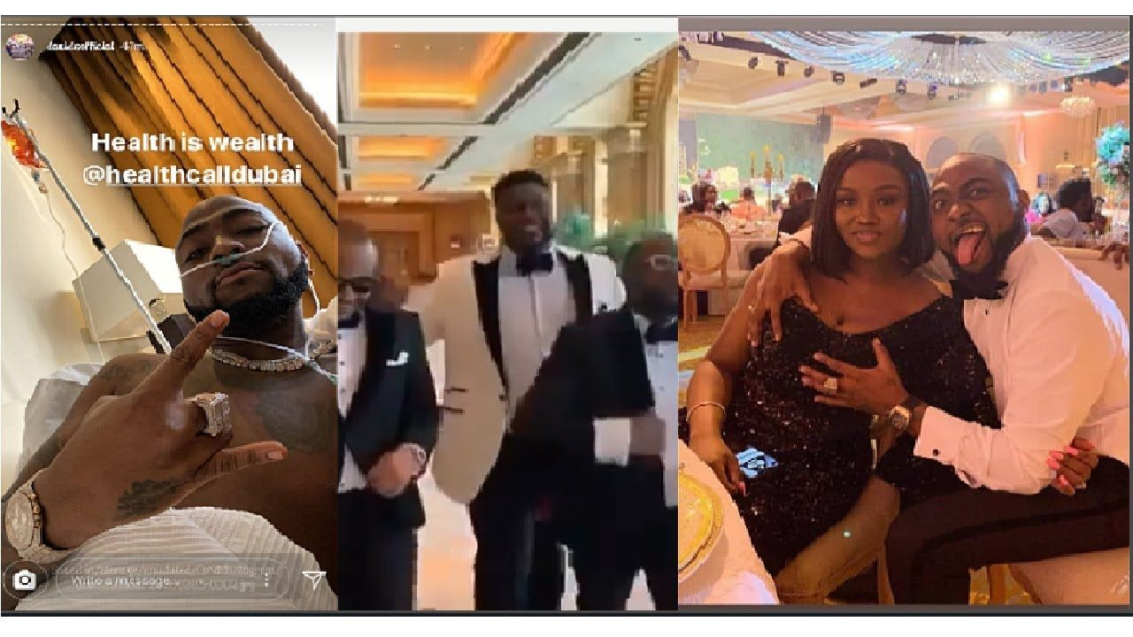 Davido Hospitalized After The Party In Dubai