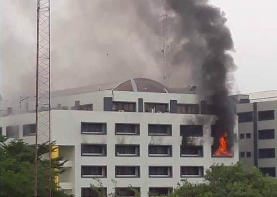 Fire At Accountant General Office – FG Reveals Cause