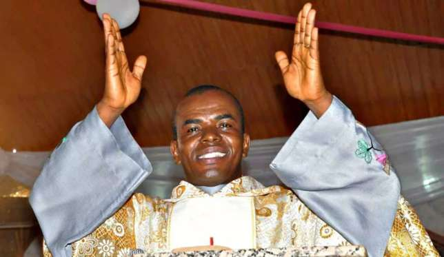 Fr. Mbaka Speaks On The 'Use Of Strands Of Hair In Bible' As Cure To COVID-19