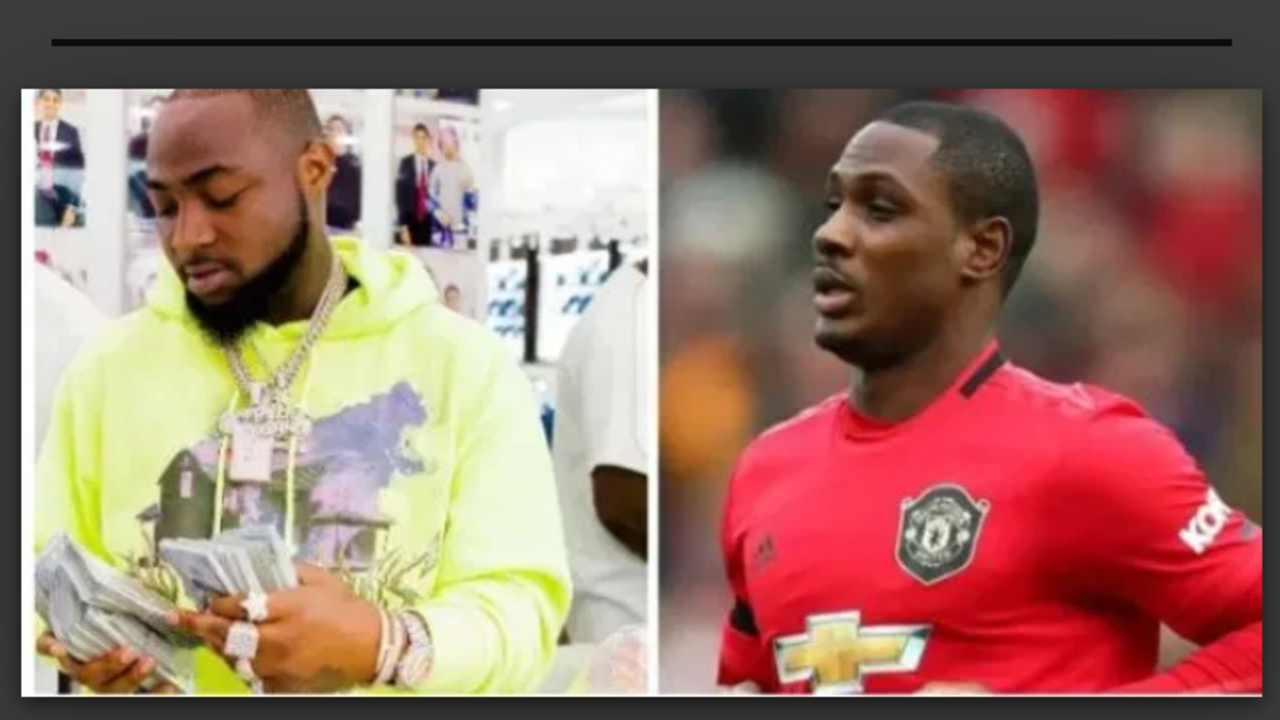 Take The Money – Davido Advices Ighalo to Accept The £400k Per Week From His Chinese Club