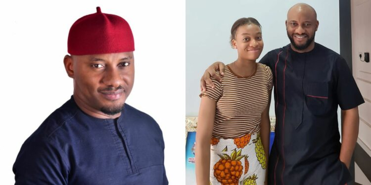 """""""This your daughter is ripe"""" – Men flood Yul Edochie's page after he celebrated his daughter's 15th birthday"""