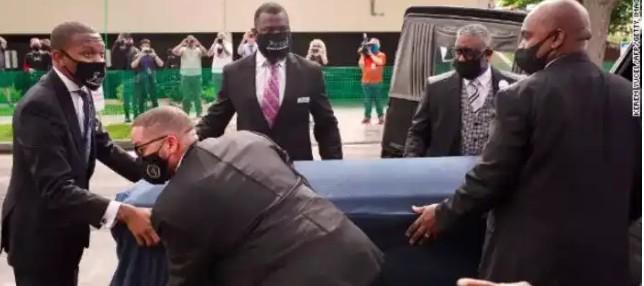 American Celebrities Who Attended George Floyd Memorial