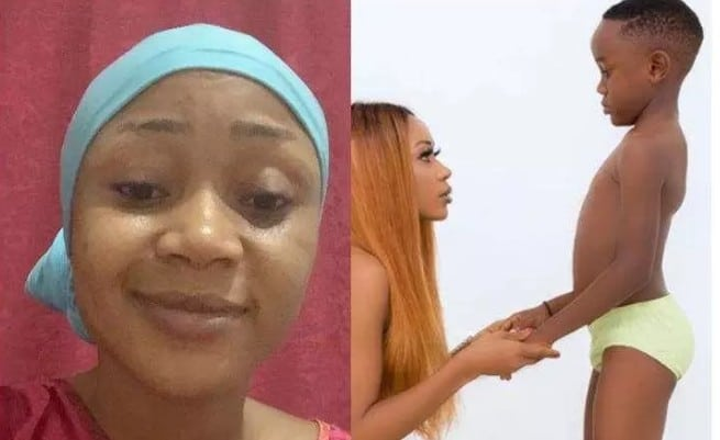 Ghanaian Actress Who Went Naked With Her Son Online Defends Herself (Video)