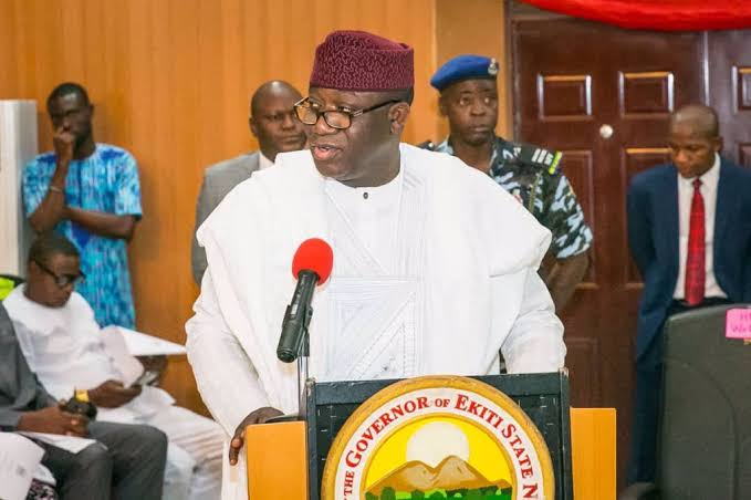 Ekiti nation government has raised an alarm that the COVID-19 palliatives looted from a warehouse in Ado-ekiti, and incorrect for